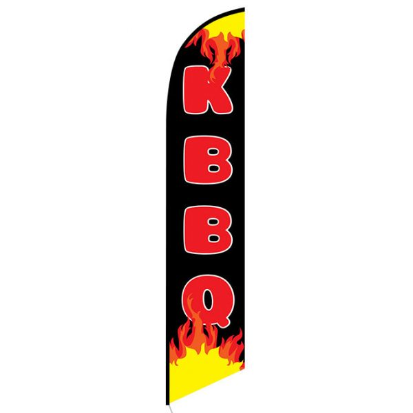 KBBQ Feather Flag Banner