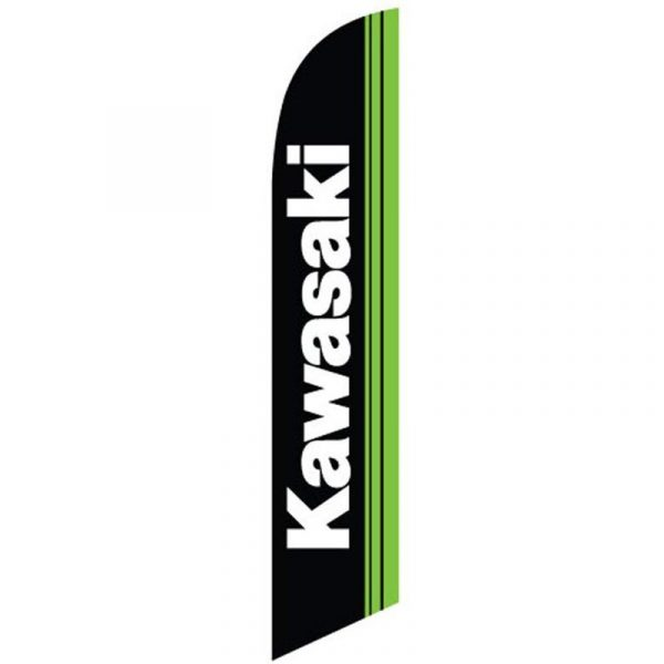 Kawasaki Feather Flag Banner