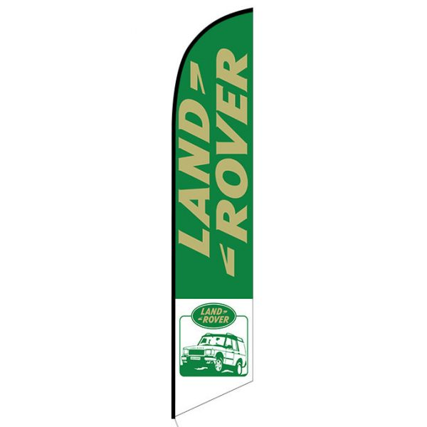 Land Rover Feather Flag Banner