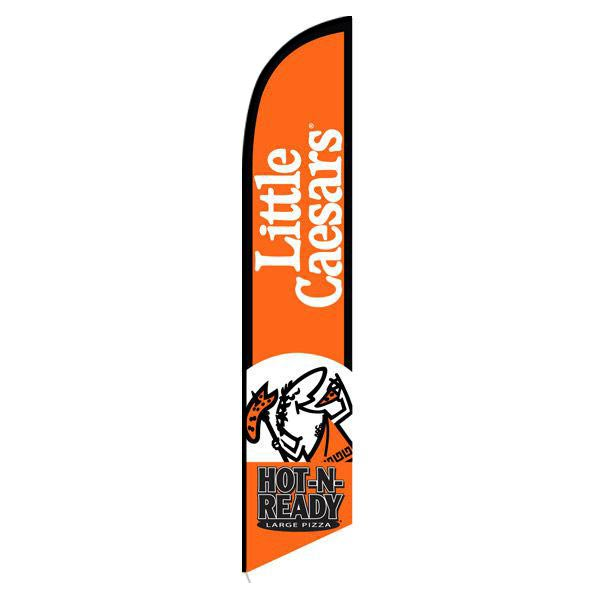 Little Caesars Feather Flag Banner