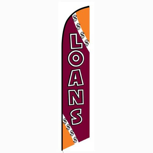 Loans Feather Flag Banner