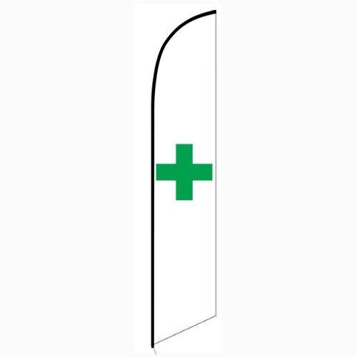 Marijuana dispensary Feather Flag Banner