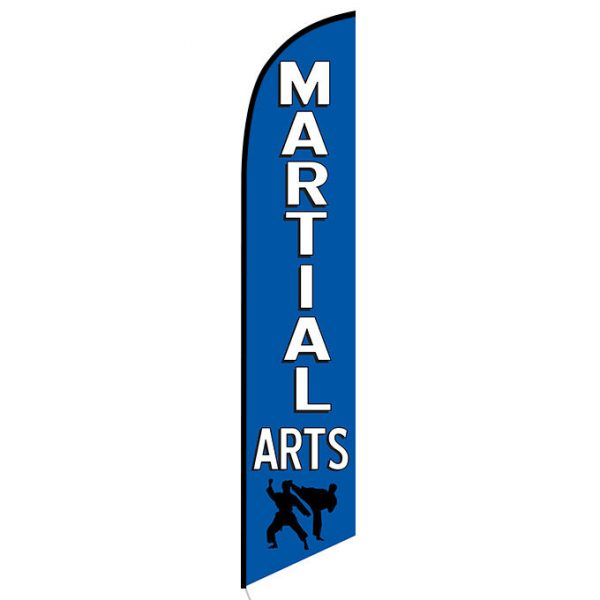 Martial Arts Feather Flag Banner