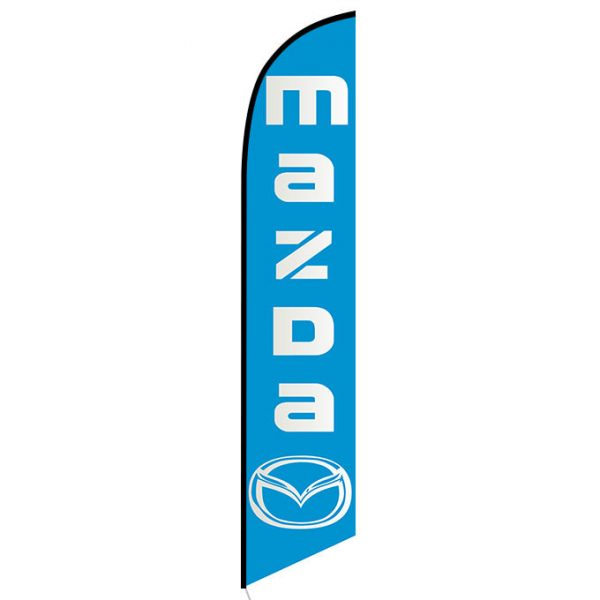 Mazda Feather Flag Banner