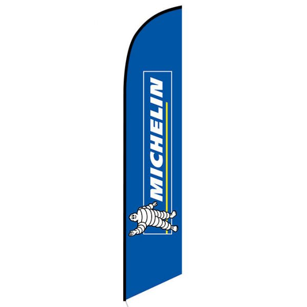 Michelin Feather Flag Banner