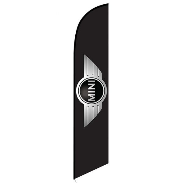 Mini cooper Feather Flag Banner