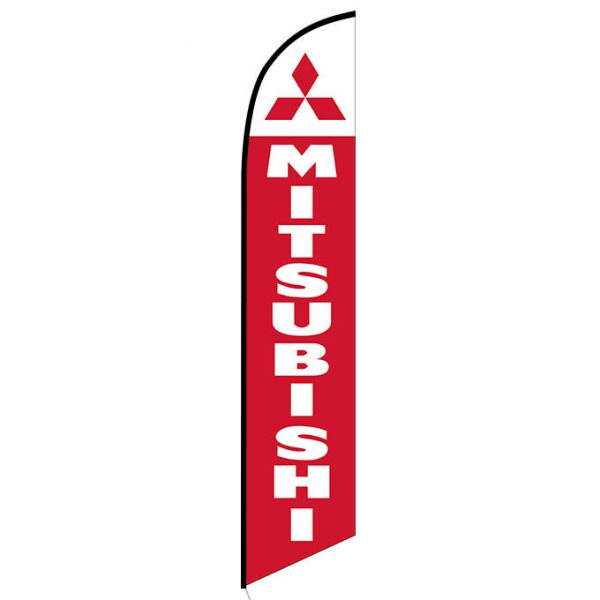 Mitsubishi Feather Flag Banner