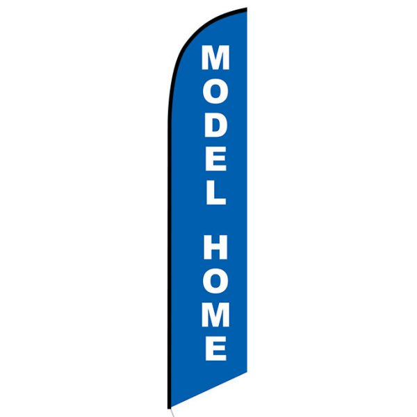 Model Home Feather Flag Banner
