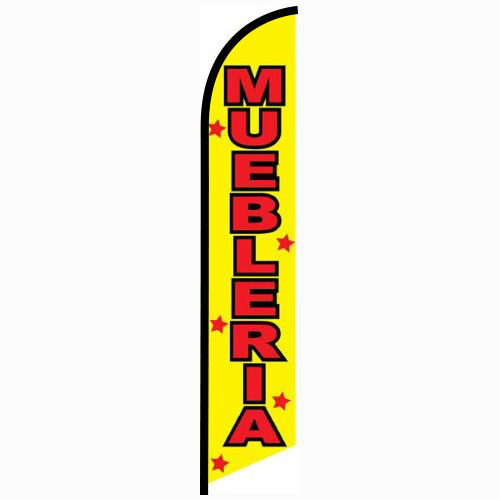Muebleria Feather Flag Banner
