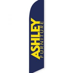 Ashley Furniture Feather Flag Banner