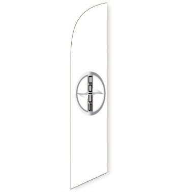 Scion (White) Feather Flag Banner