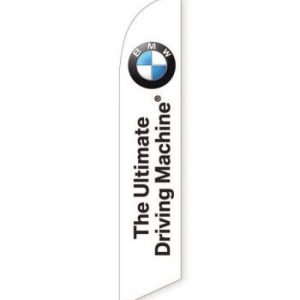 BMW The Ultimate Driving Machine Feather Flag Banner