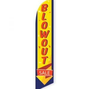 Blowout Sale Feather Flag Banner