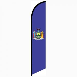 New York State Feather Flag Banner