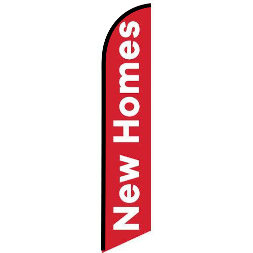 New Homes Feather Flag Banner