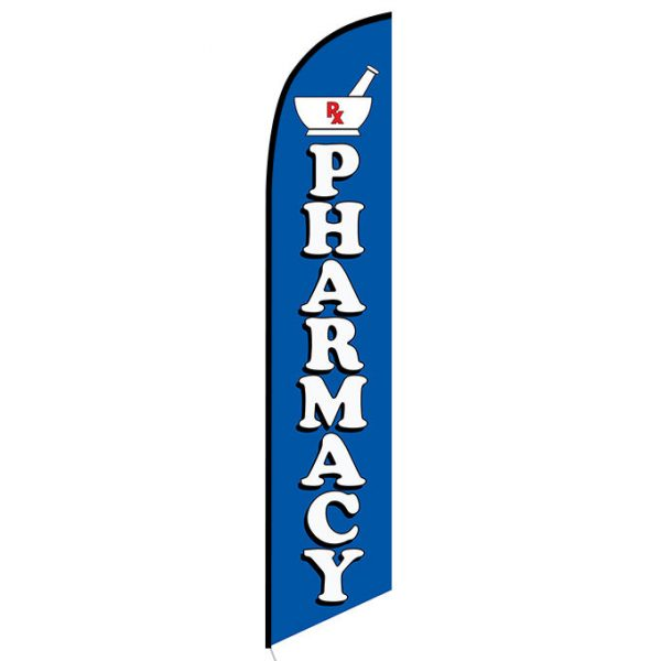 Pharmacy Feather Flag Banner