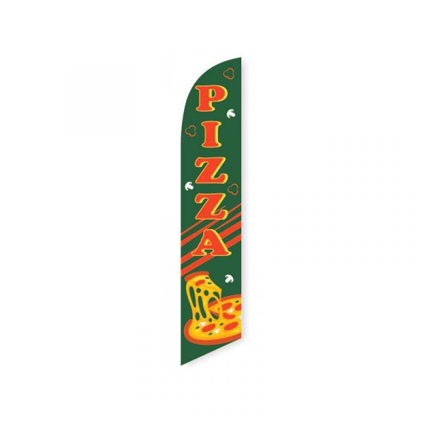 Pizza Feather Flag Banner