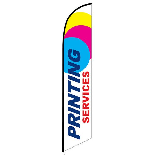 Printing Services Feather Flag Banner