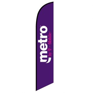 Metro™ by T-Mobile Feather Flag Banner