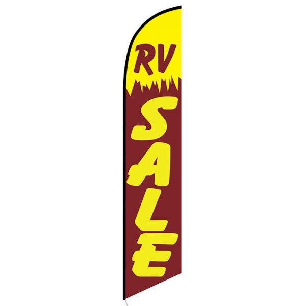 RV Sale Feather Flag Banner