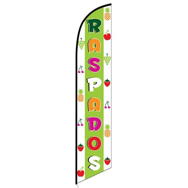 Raspados Feather Flag Banner
