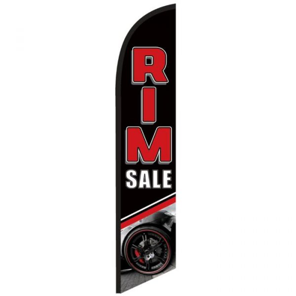 Rim Sale Feather Flag Banner Banner NSFB-5817