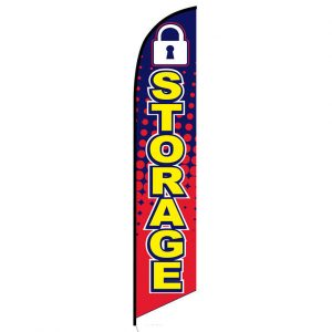 Storage Feather Flag Banner