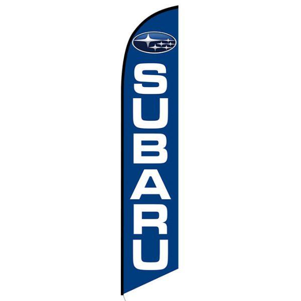 Subaru Feather Flag Banner