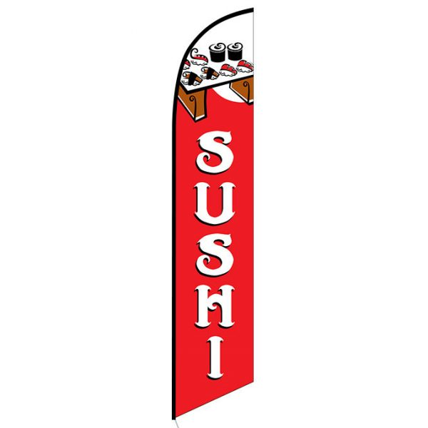 Sushi Feather Flag Banner