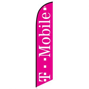 T-mobile Feather Banner Flag