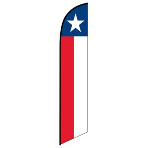 Texas Feather Flag Banner