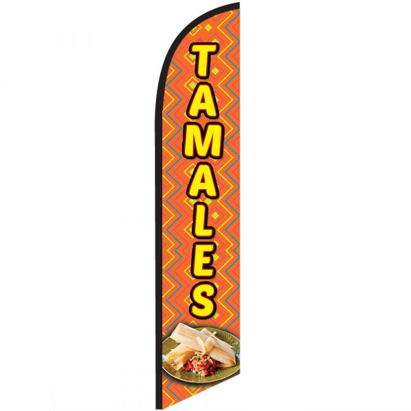 Tamales Feather Flag Banner Banner