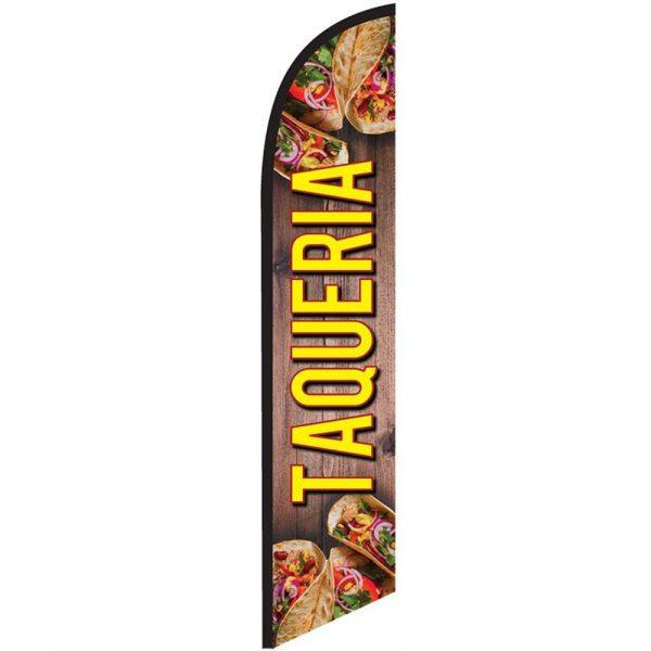 Taqueria Feather Flag Banner