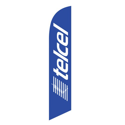 TelCel Feather Flag Banner