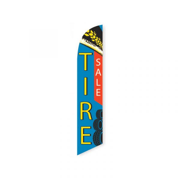 Tire Sale Feather Flag Banner