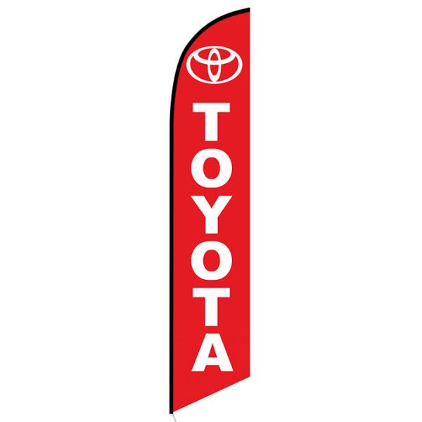 Toyota Feather Flag Banner