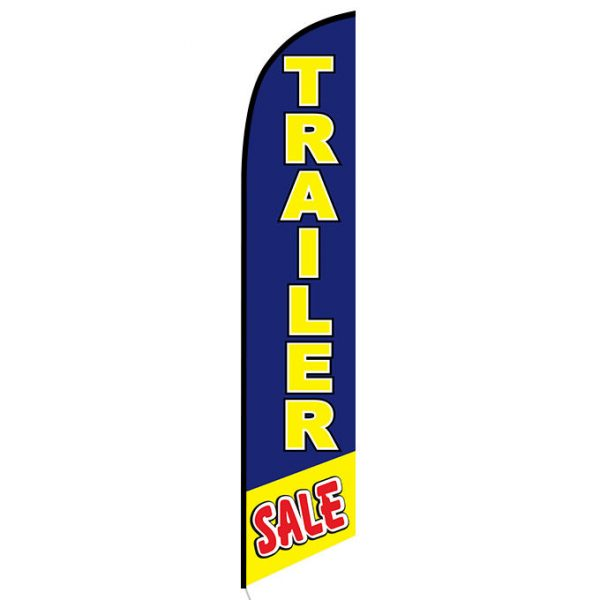 Trailer Sale Feather Flag Banner