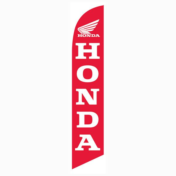 Honda motorcycle Feather Flag Banner