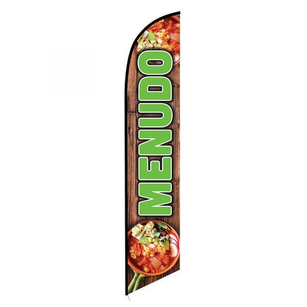 Menudo Feather Flag Banner